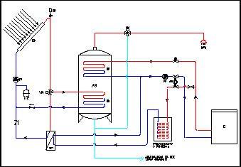 Solare termico - Impianto di ventilazione forzata bagno cieco ...