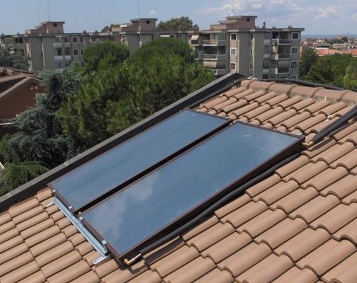 Pannello Solare Termico Integrato Tetto : Solare termico